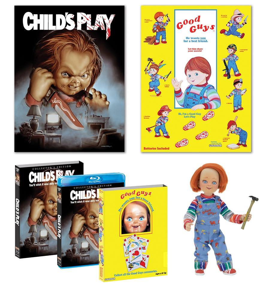 7188 - Child's Play Collector's Edition Blu-Ray Coming October 18th